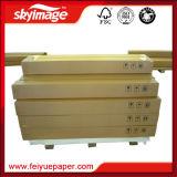 documento di trasferimento asciutto veloce di antiarricciatura di sublimazione della tintura di alto tasso di trasferimento del rullo 100GSM (24 '' *100m)