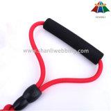 Poliéster de alta qualidade da cor contínua 10mm da Quente-Venda/trela de nylon & chicote de fios ajustável de 15mm