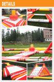 黄色および赤いInfaltbaleの浮遊物水公園
