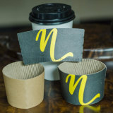 Taza ecológica funda de Papel con logotipos personalizados