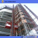 Sc200/200 2ton Compartimento Duplo Edifício de construção Guindaste