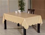 Panneau de couverture en flanelle en forme carrée PVC imprimé motif imperméable à l'huile, étanche