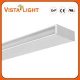 Hotel che illuminano l'indicatore luminoso lineare di alluminio dell'espulsione 54W LED