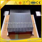 L'extrusion en aluminium ronde d'usine en aluminium de Foshan profile le radiateur de radiateur