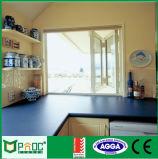 Aluminiumlegierung-Bi-faltendes Fenster mit australischem Standard für Innenarchitektur