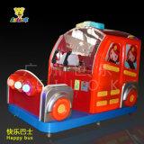 Glückliche Zombie-und Tier-Säulengang-Spiel-Maschine des Bus-V.S