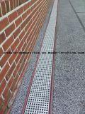 Acoplamiento cuadrado Grating de la fibra de vidrio en resistencia de fuego