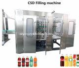 O gás automático do suco de Pepsi Fanta da coca-cola do refresco contem a máquina de enchimento Carbonated da bebida (o CGF)