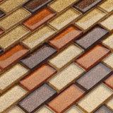 Mosaico di cristallo di colore e della scintilla dell'oro