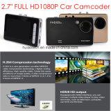"""최신 판매 2.7 """" HD TFT LCD 디스플레이 차 가득 차있는 HD1080p 차 DVR 의 120degree 전망 각, 4G 렌즈를 가진 이동할 수 있는 DVR 에서 대시 사진기, 디지털 비디오 녹화기 DVR-2703"""