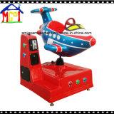 耐久のガラス繊維の子供の乗車の電気振動馬