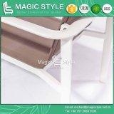 Sling Sofá Definir Cadeira Têxteis Mobiliário Têxteis Mobiliário de exterior mobiliário de alumínio cadeira empilhável (Estilo Mágico)