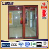 Het Glijdende Venster die van het Glas van het aluminium met Flyscreen Drie (JN65 REEKS) vastspijkeren