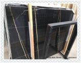 Witte, Zwarte Marmeren Plakken voor Vloer en de Tegel van de Muur