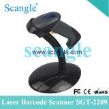 De zwarte Scanner van de Streepjescode van de Prijs van de Fabriek met USB en De Lezer van de Streepjescode van de rs232- Interface