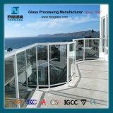 Verres de sûreté de verre trempé de frontière de sécurité de balcon