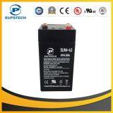 2016 La venta caliente selló la válvula de la batería libre del ácido de plomo 4V 4ah del mantenimiento