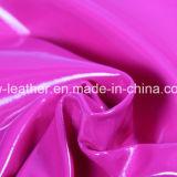 Отсутствие складывая кожи PU патента меток синтетической для ботинок Hx-S1706