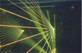 Beweglicher Kopf-Laser der Leistungs-8W RGB und Hochgeschwindigkeitsscanner