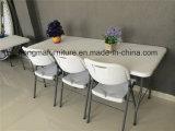 meubles extérieurs de 6FT de Tableau de pliage en plastique en vente entière