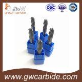 2/3/4의 플루트 단단한 탄화물 끝 선반 HRC45 50 60