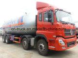 260HP Dongfeng 8X4 36m3 15mt LPG 대량 유조 트럭