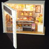 Het nieuwe Huis van Doll DIY van de Aankomst Houten met Meubilair voor Kind