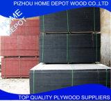 Negro vendedor caliente de 15m m/Brown/madera contrachapada Película-Hecha frente roja