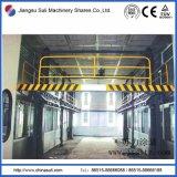 Plataforma de elevación del elevador del marco para la cadena de producción de la capa