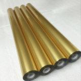 Clinquant d'estampage chaud en aluminium de transfert olographe de couleur d'or pour l'invitation de mariage