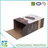 Boîte en gros à nourriture de carton ondulé d'impression de couleur