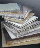 Los paneles de aluminio cubiertos primero venta caliente del panal para la decoración de la estación de tren