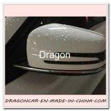 Flexível DIY PVC Chrom Trim Edge Strip Protector para Decoração de Espelho retrovisor de carro