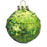 زجاجيّة إنتاج شعبيّة تصميم يد يدهن طبعة عيد ميلاد المسيح كرة