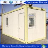 자동차 가벼운 강철 구조물 프레임의 사는 Prefabricated 강철 콘테이너 집 편평한 팩 집 콘테이너