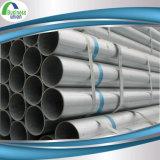 Tubulação de aço soldada laminada a alta temperatura revestida do zinco
