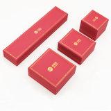 Caixa de jóia Handmade da venda por atacado da impressão do ouro (J70-E3)