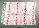Stole van het Ontwerp van de Sjaal van 100% Acryl Afgedrukte Veelvoudige Kleuren Aangepaste voor Dames (ABF22004011)