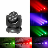 4in1 7*12W LEDの移動ヘッド壁の洗浄軽い段階の照明