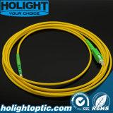 Vezel Optische Patchcord Sca aan E2000A Sx Gele Sm 3.0mm
