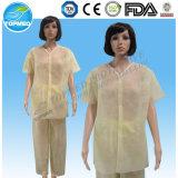 Pp.-geduldiges Kleid, Schlafanzüge, Lokalisierungs-Kleid mit kurzen Hülsen