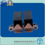 Corrente transportadora plástica de dobramento lateral do prendedor (1873TAB GD)