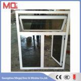 Finestra di alluminio rivestita di vetratura doppia della polvere in Cina