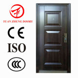 Trans-Print caliente de la seguridad de la puerta de acero de alta calidad fabricado en China