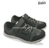 Os meninos voam sapatas do esporte do Knit com respirável e conforto Outsole