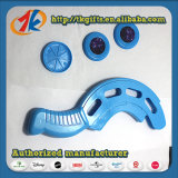 Schijf van het Stuk speelgoed van Kis de Grappige Plastic Vliegende die voor Bevordering wordt geplaatst