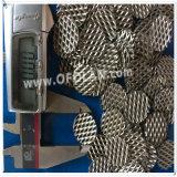 Maglia ampliata nichel resistente alla corrosione resistente all'uso