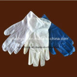 Порошка перчаток латекса простирания &Powder синтетического свободно (перчатки латекса экземпляра)