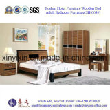최신 판매 2인용 침대 호텔 스위트 침실 가구 (F04#)