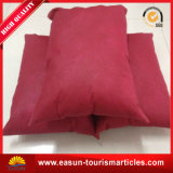 Custom Red Knitting machine Fabric Printing Pillow